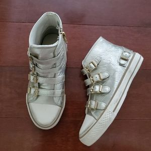 Ash High Top Sneakers Girl's Size 3.5